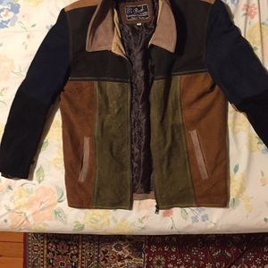 Other - Men's jacket leather NWT
